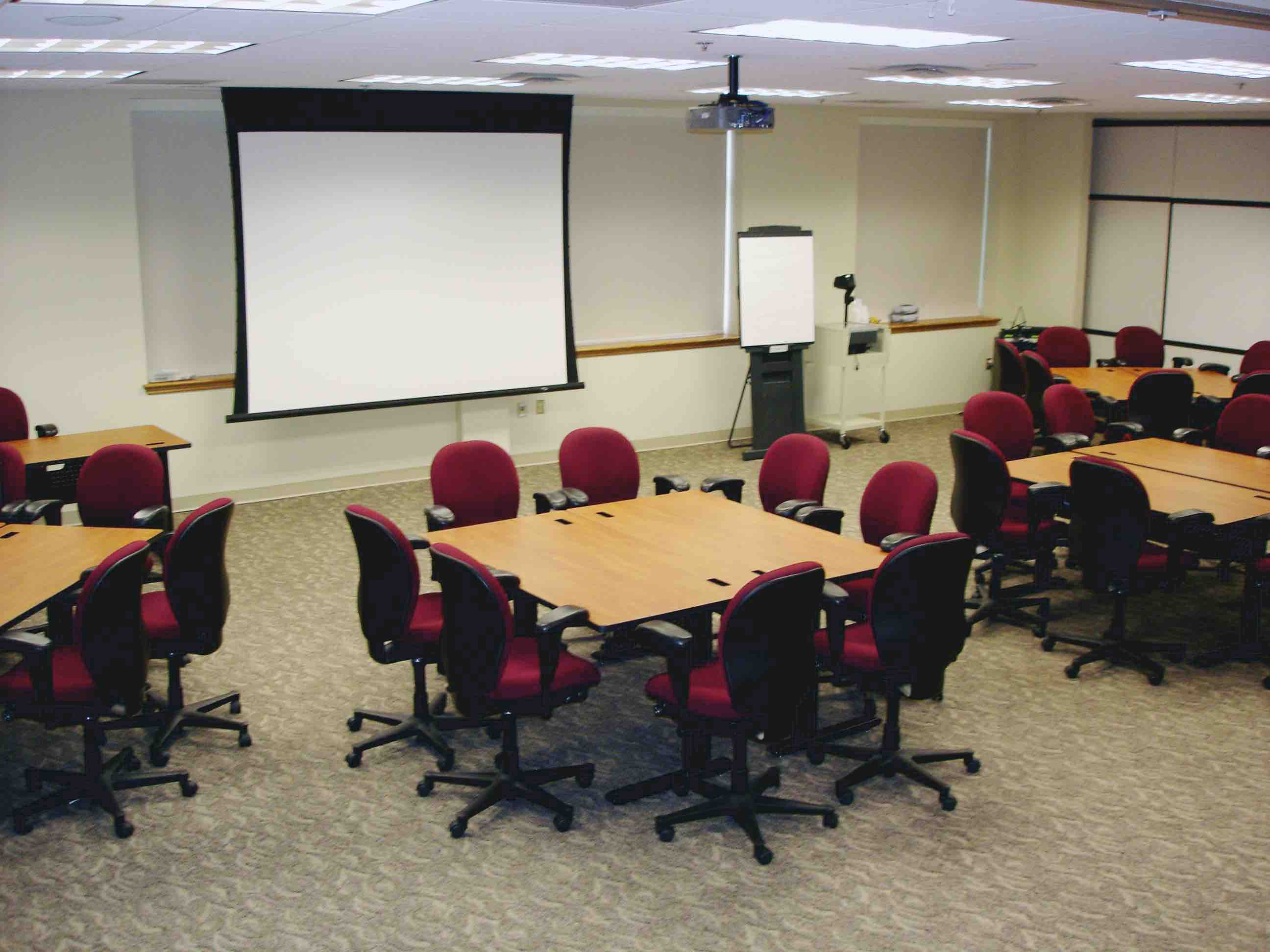 Meeting Room Set Up in Tables