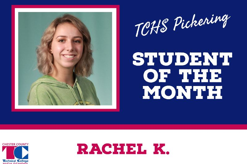 Student of the Month - Rachel K.